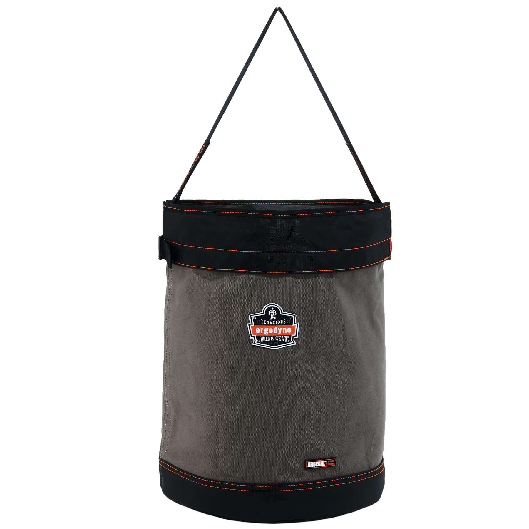 Arsenal 5935T Web Handle Canvas Hoist Bucket With Top