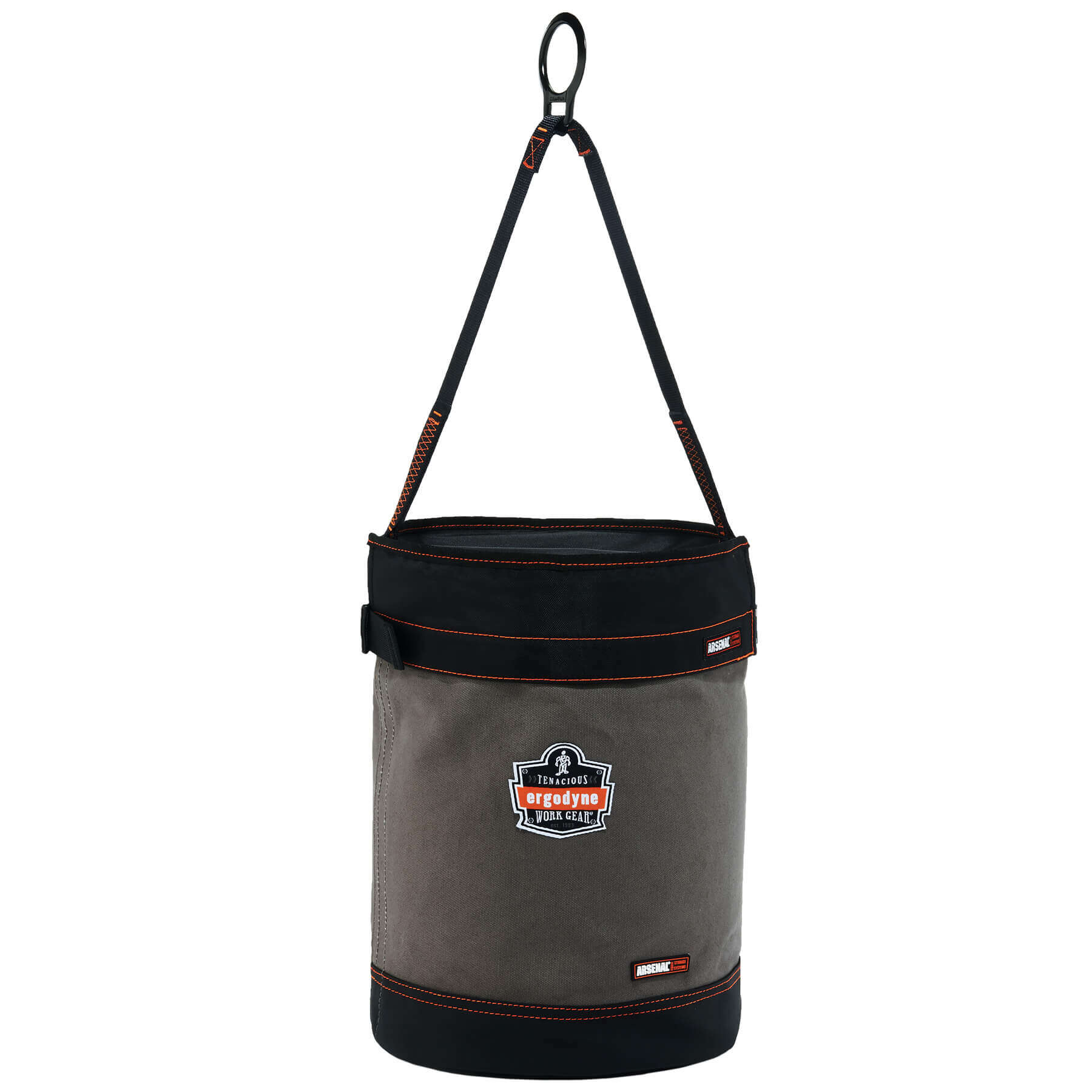 Arsenal 5960T Canvas Hoist Bucket with D-Rings and Top
