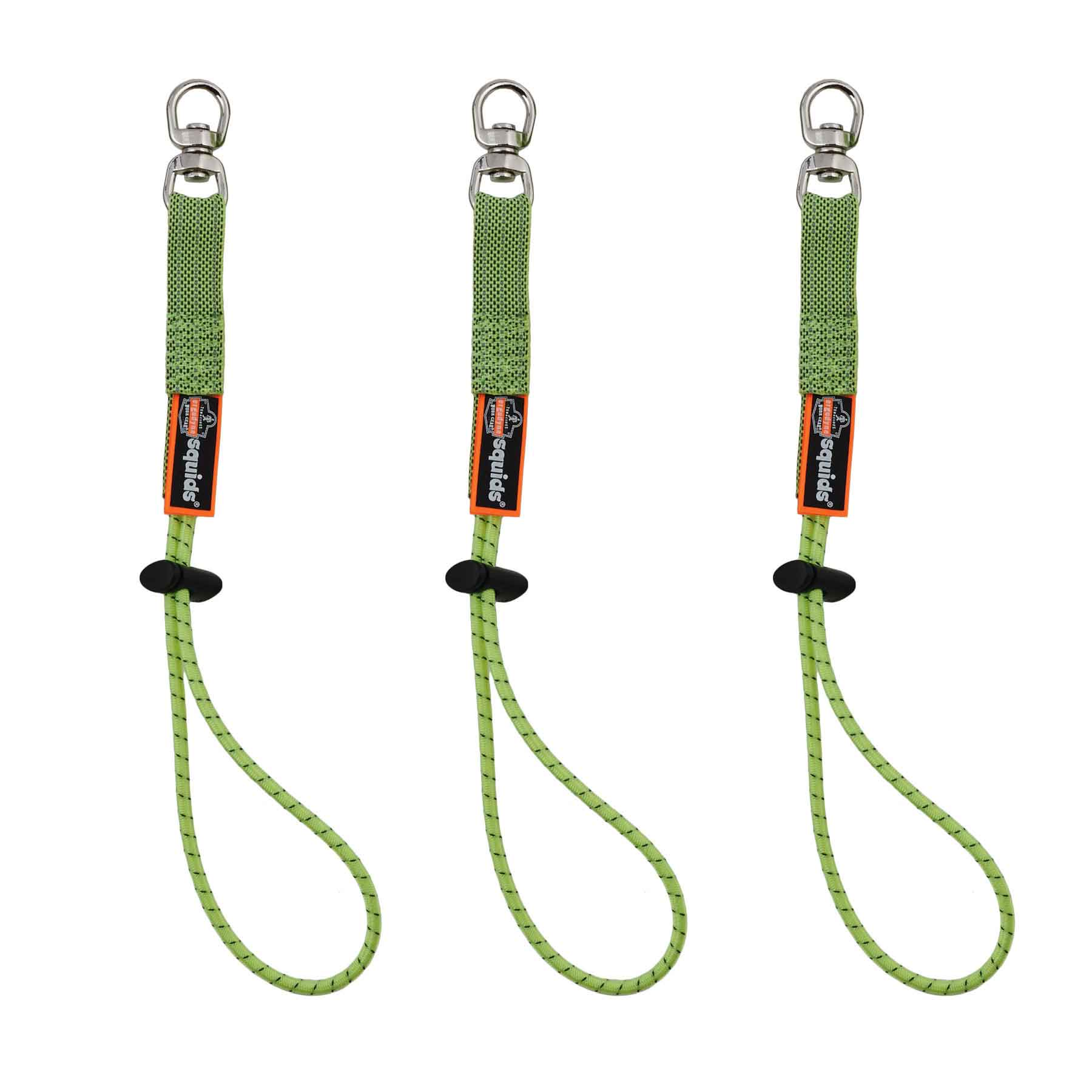 3713 Elastic Loop Tool Tails™ Swivel - 10lbs 3-pack