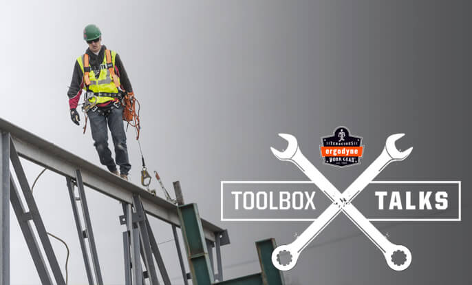 Dropped Objects: Risk Awareness and Prevention – Toolbox Talks