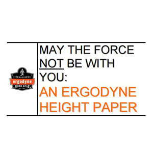 Objects at Heights: May the Force NOT Be with You - White Paper