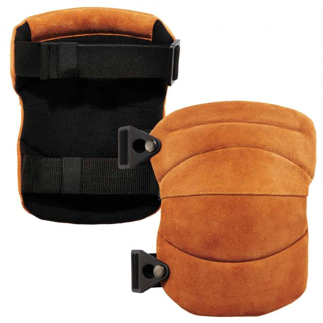 ProFlex 230LTR Leather Knee Pads - Wide Soft Cap