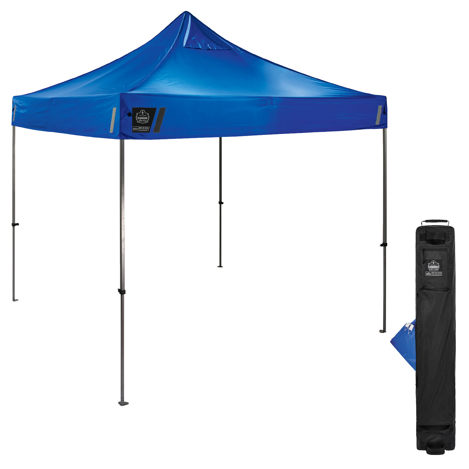 SHAX 6000 Heavy-Duty Pop-Up Tent - 10ft x 10ft / 3m x 3m