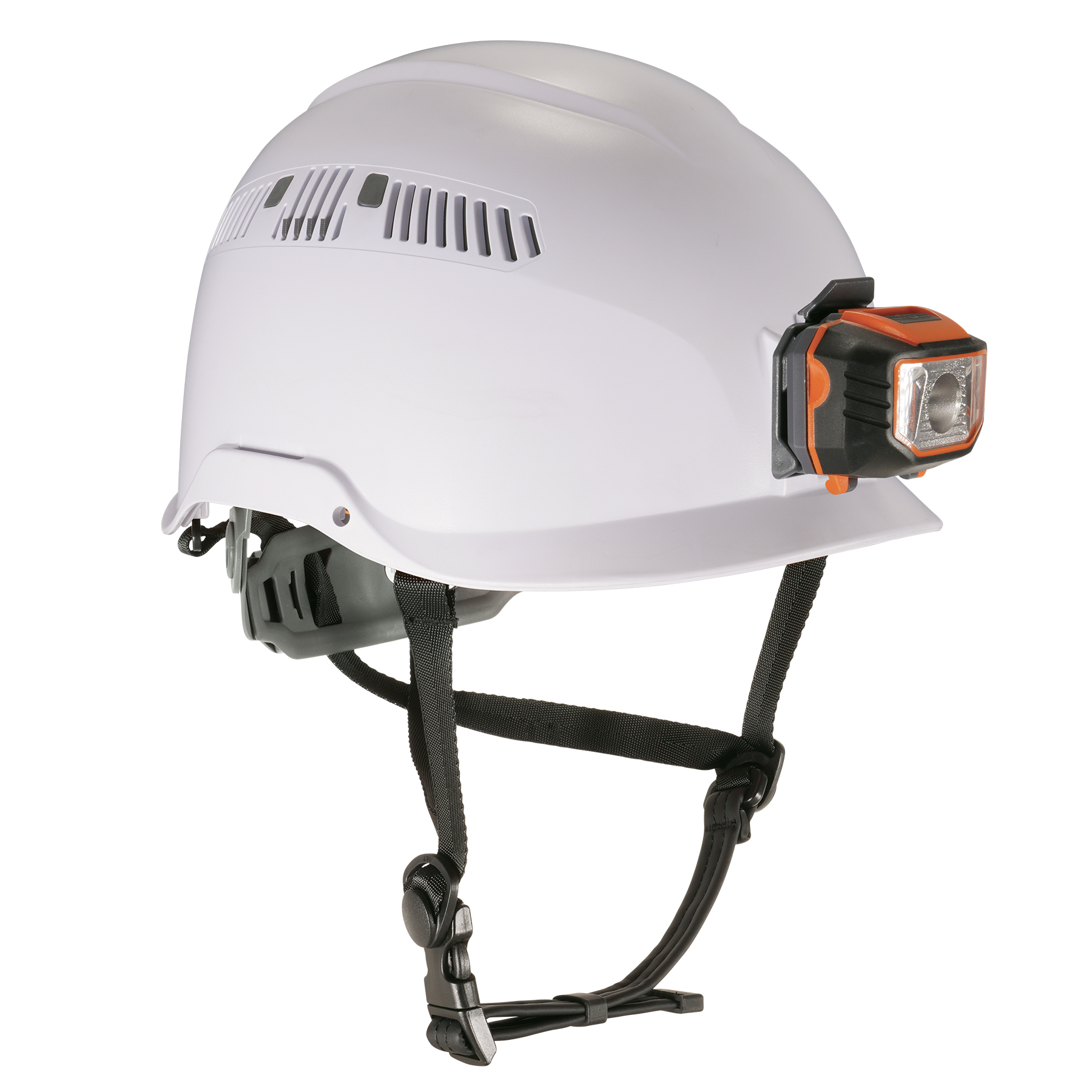 Skullerz 8975LED Class C Safety Helmet + LED Light