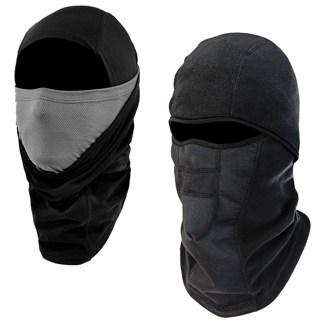 two black balaclavas
