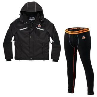 thermal jacket and base layer bottoms