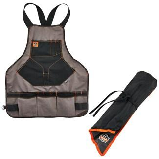tool apron and tool roll up