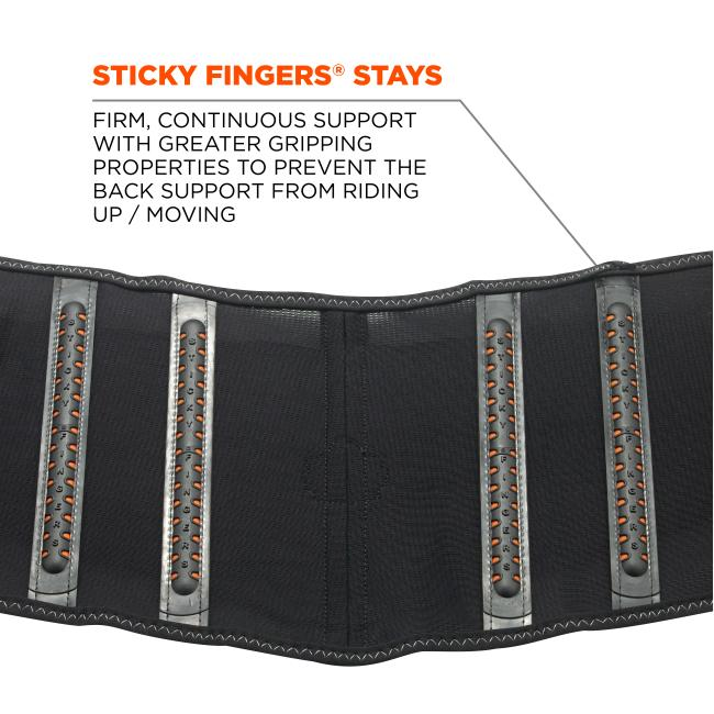 1100SF XS Black Standard Back Support image 6