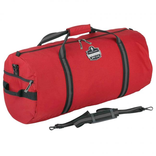 5020 S Red Nylon Gear Duffel Bag image 1