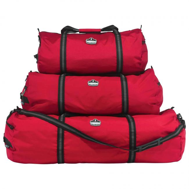 5020 S Red Nylon Gear Duffel Bag image 3