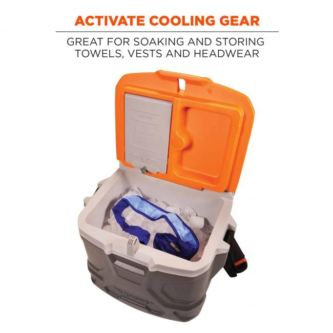 activate cooling gear: great for soaking and storing towels, vests, and headwear image 7