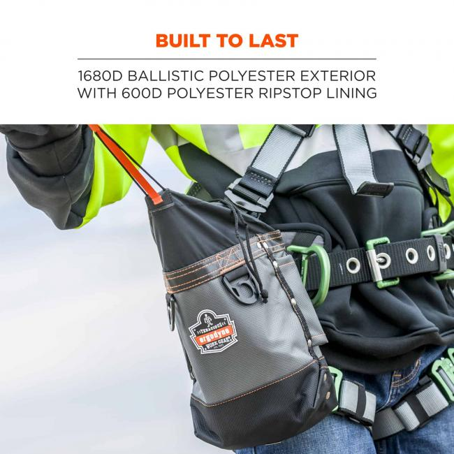 Built to last: 1680D ballistic polyester exterior with 600D polyester ripstop lining