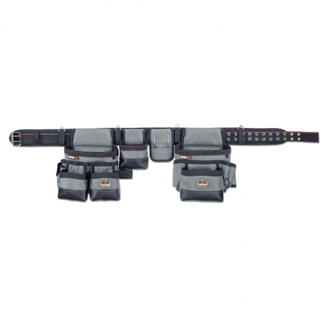 5504 L Gray 34-Pocket Tool Rig-Synthetic Tool Belt image 1