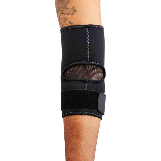 655 S Black Elbow Sleeve w/ Strap image 3