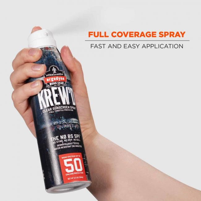 full coverage spray: fast and easy application