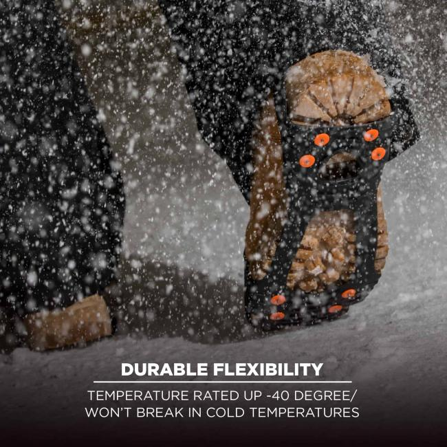 Durable flexibility: Temperature rated up -40 degree/won't break in cold temperatures
