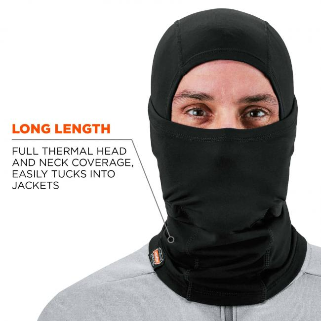 long length: full thermal head and neck coverage, easily tucks into jackets image 4