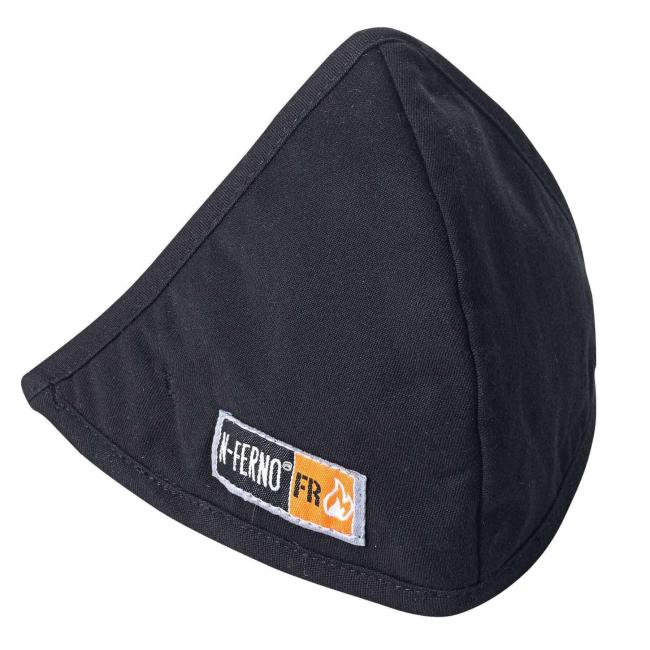 6872  Black 2-Layer FR H&L Mouth Pc. fr-winter-liner-face-mask-with-hook-and-loop- image 1