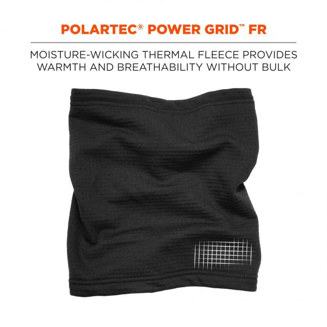 Polartec Power Grid FR: Moisture-wicking thermal fleece provides warmth and breathability without the bulk