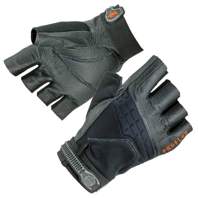900 2XL Black Impact Work Gloves image 1