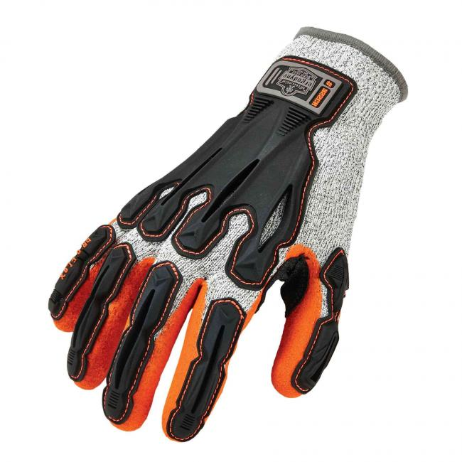 922CR Small Gray Level 5 Cut Resistant Nitrile-Dipped DIR Work Gloves image 1