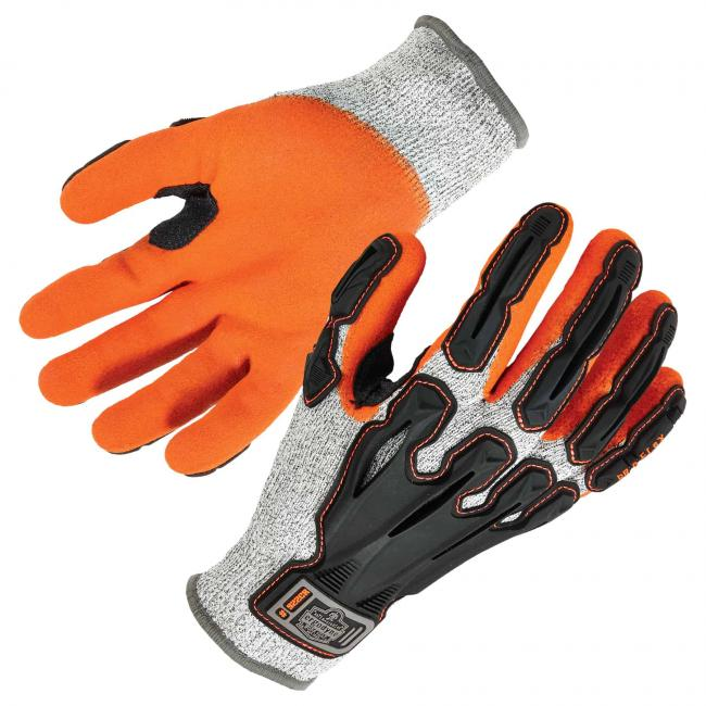 922CR S Gray Cut Resistant Nitrile-Dipped DIR Gloves image 1