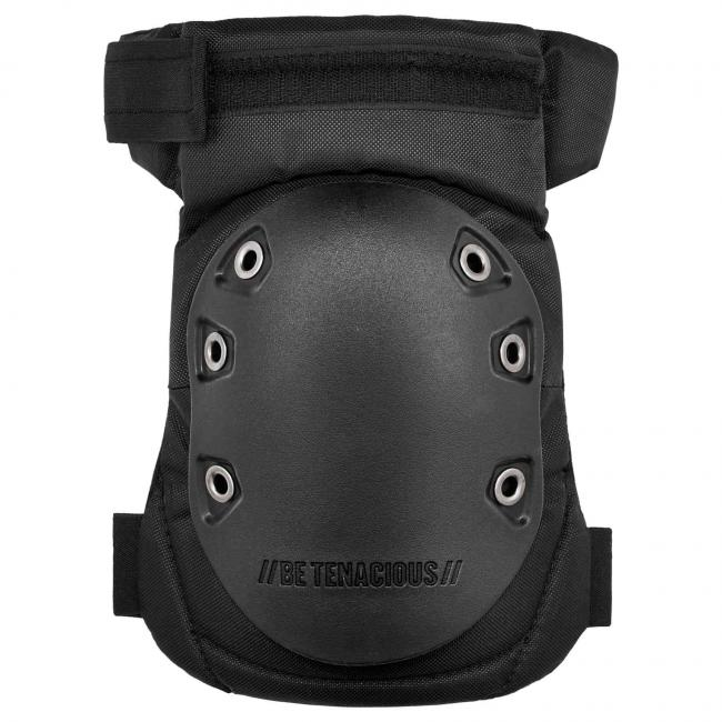 435HL Black Cap Hinged Rubber Cap Gel Knee Pad image 2