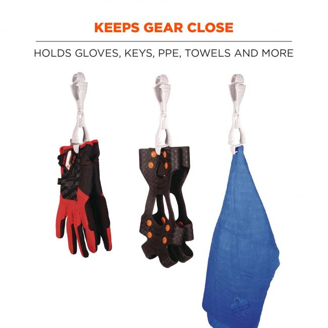keeps gear close: hold gloves, keys, ppe, towels, and more  image 2
