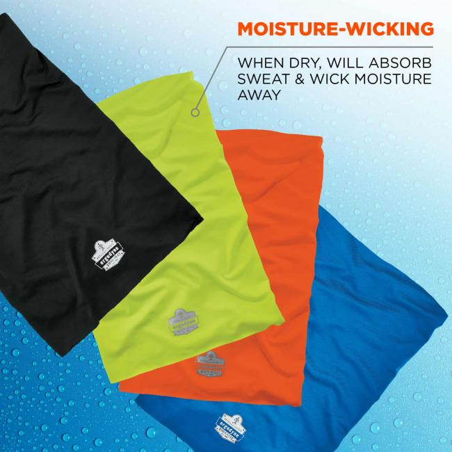 moisture-wicking: when dry, will absorbv sweat and wick moisture away image 4