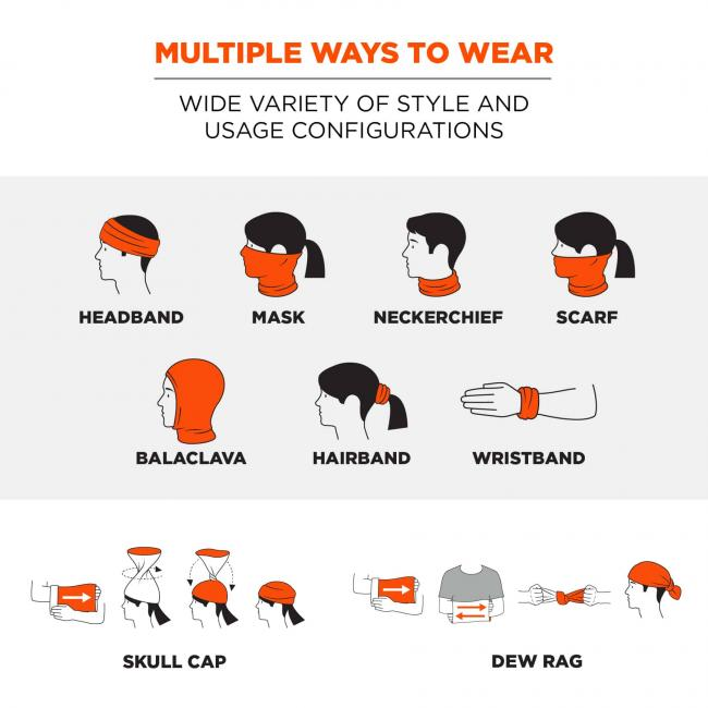 multiple ways to wear: wide variety of style and usage configurations image 2