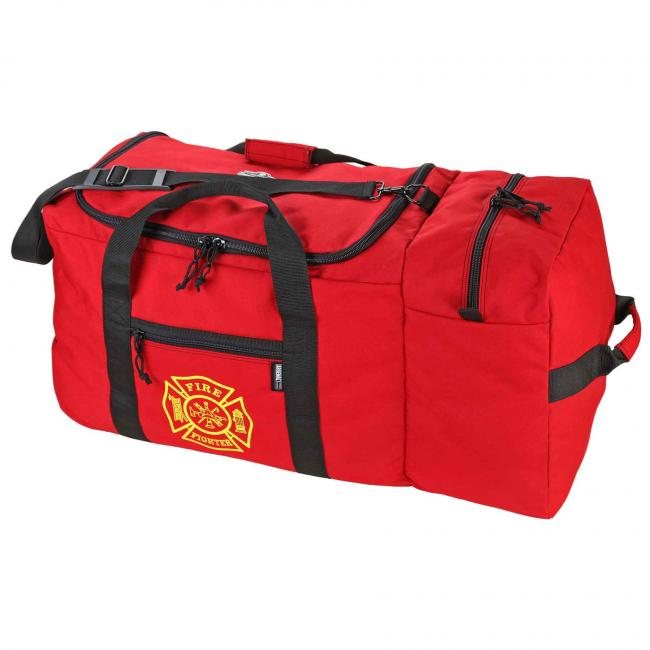 GB5005W 7160ci Red Wheeled F&R Gear Bag Fire and Rescue Gear Bags image 2