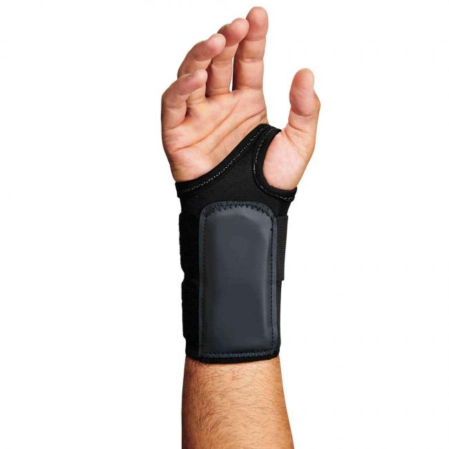 4010 S-Right Black Double Strap Wrist Support  image 2