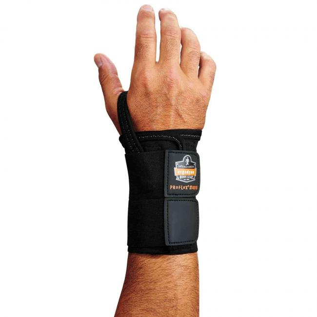 4010 S-Right Black Double Strap Wrist Support  image 1