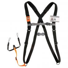 Squids® 3138 Padded Barcode Scanner Harness + Lanyard