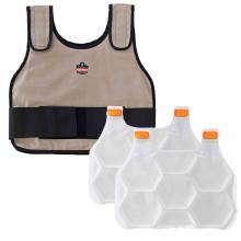 Chill-Its 6230 Standard Phase Change Cooling Vest with Packs
