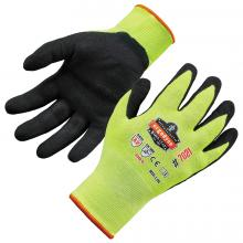 ProFlex 7021 Hi-Vis Nitrile-Coated Cut-Resistant Gloves - ANSI A2 Level, WSX™ Wet Grip