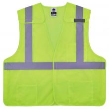 GloWear 8217BA Class 2 Hi-Vis 5-Point Breakaway Safety Vest