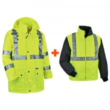 GloWear 8385 4-in-1 High Visibility Jacket - Type R, Class 3