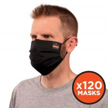 Skullerz® 8801-CASE Pleated Face Cover Mask - Reusable, Cotton