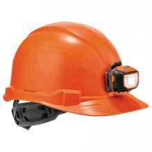Skullerz 8970LED Class E Cap-Style Hard Hat + LED Light with Ratchet Suspension