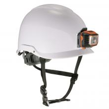Skullerz 8974LED Class E Safety Helmet + LED Light