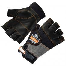ProFlex 901 Half-Finger Leather Impact Gloves