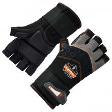 ProFlex 910 Half-Finger Impact Gloves + Wrist Support