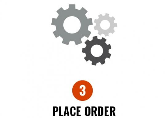 3. Place order